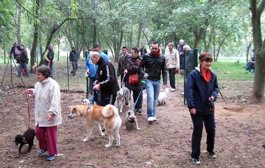 Inaugurazione Area Cani – Parco Leopardi (PV)